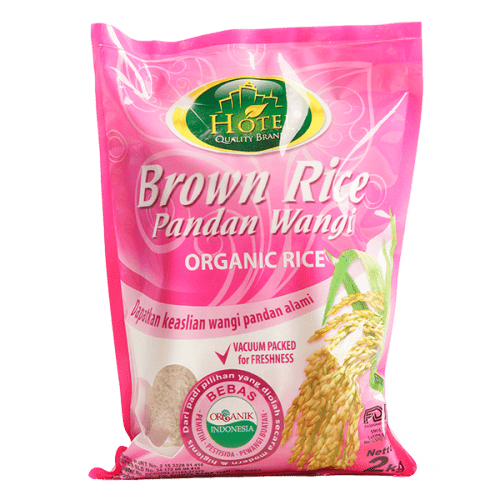 Brown Rice Pandan Wangi