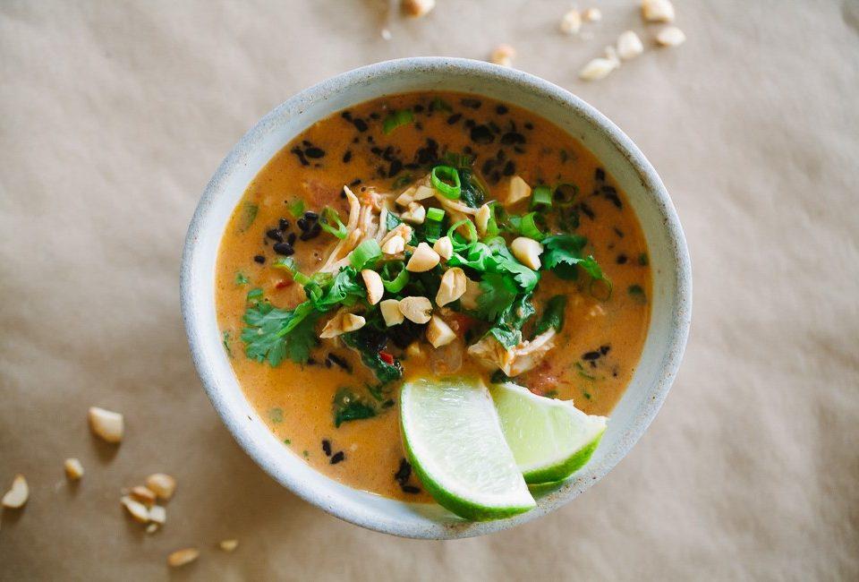 sup ayam beras hitam